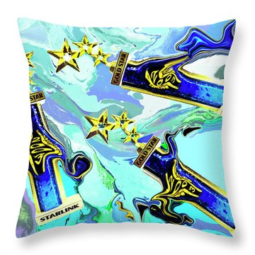 Everyone Gets A Trophy Throw Pillow