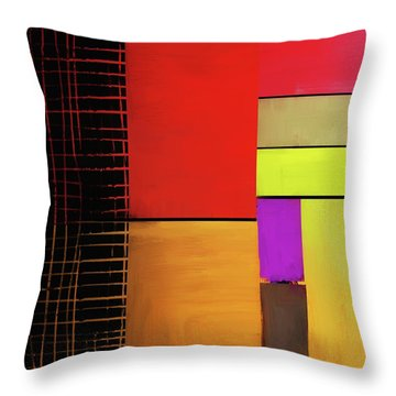 Throw Pillow featuring the mixed media Everything Is Connected by Eduardo Tavares