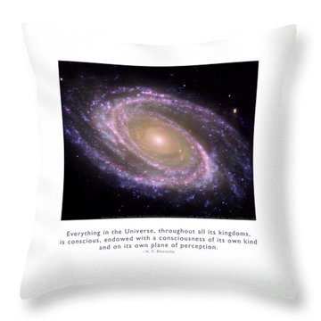 Throw Pillow featuring the photograph Everything Is Conscious by Kristen Fox