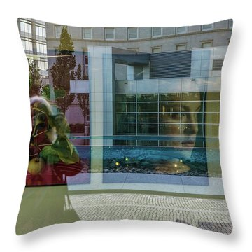 Everything Is Inside Out Throw Pillow