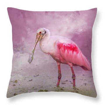 Everything Is Rosie Throw Pillow
