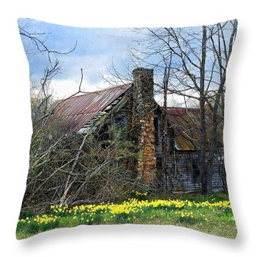 Everything Old Is New Again Throw Pillow