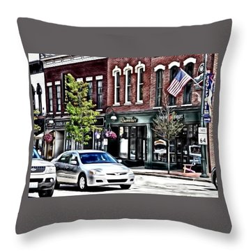 Everything Old Is New Throw Pillow