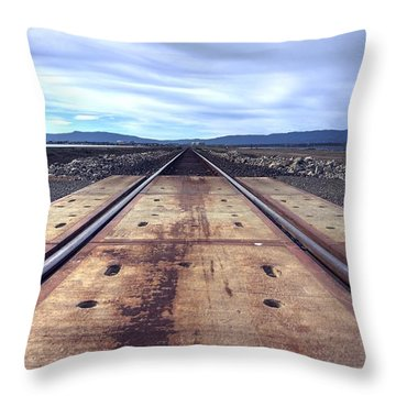 Everything's Coming Our Way Throw Pillow