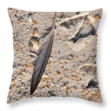 Throw Pillow featuring the photograph Evidence by Jan Amiss Photography