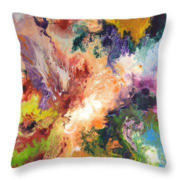 Evidence Of Things Unseen Throw Pillow