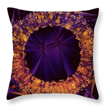 Eviternity Throw Pillow by Susan Maxwell Schmidt