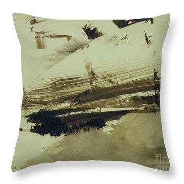 Evocation Of An Island Throw Pillow