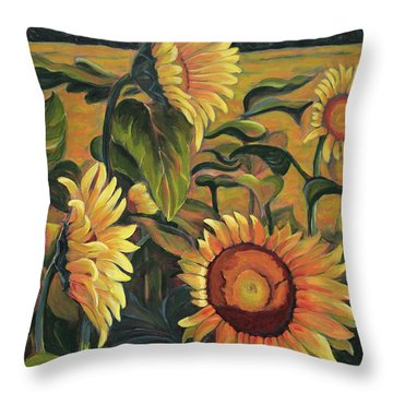 Evocation Throw Pillow