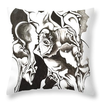 Evolution In Mind  Throw Pillow