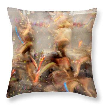 Evolutionary Throw Pillow