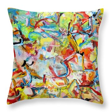 Evolving Logic Throw Pillow