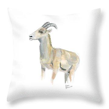 Ewe Throw Pillow