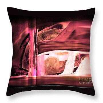 Dream Escape Throw Pillow by Yul Olaivar