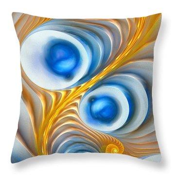 Throw Pillow featuring the digital art Exaggeration by Anastasiya Malakhova