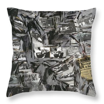Excelsior IIi Throw Pillow