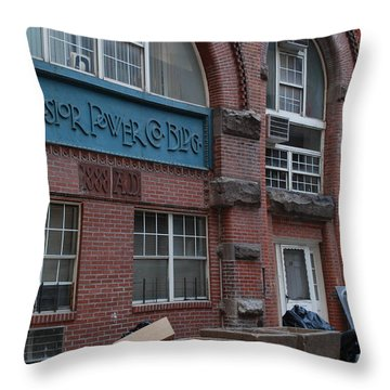 Excelsior Power Co Throw Pillow by Rob Hans