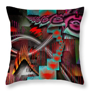 Excerpt From A Dream Throw Pillow by Mimulux patricia no No