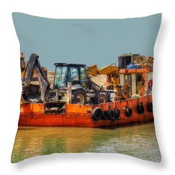 Excessive Cargo Throw Pillow