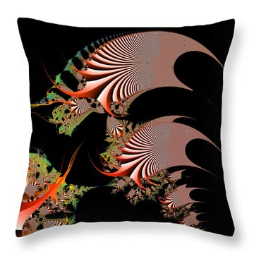 Throw Pillow featuring the digital art Excetremen by Andrew Kotlinski