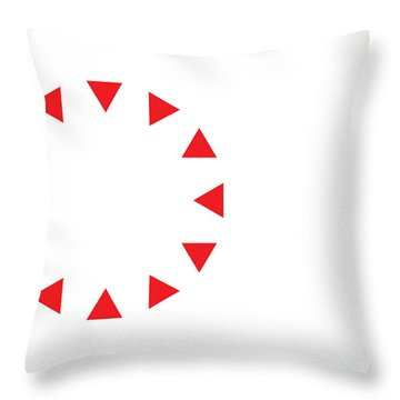Throw Pillow featuring the digital art Excluded by Greg Collins