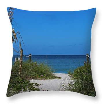 Throw Pillow featuring the photograph Exclusively Captiva by Michiale Schneider