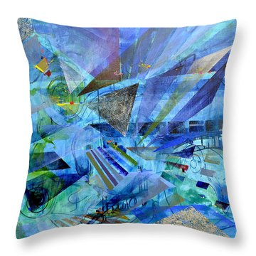 Excursions Of Vision Throw Pillow