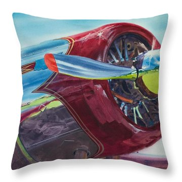 Executive Power Throw Pillow