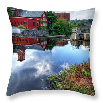 Exeter New Hampshire Throw Pillow