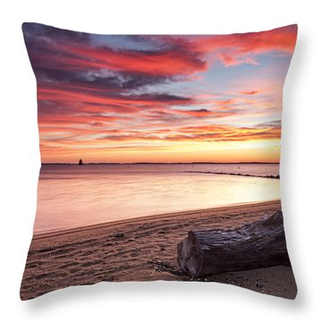 Throw Pillow featuring the photograph Exhale by Edward Kreis