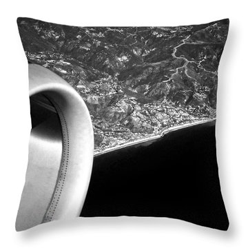 Exit Row - Window Seat Throw Pillow by Gwyn Newcombe