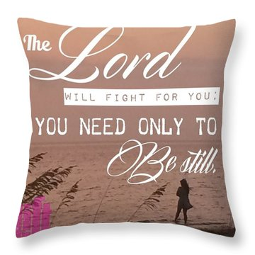 Exodus 14 -when The Israelites Left Throw Pillow