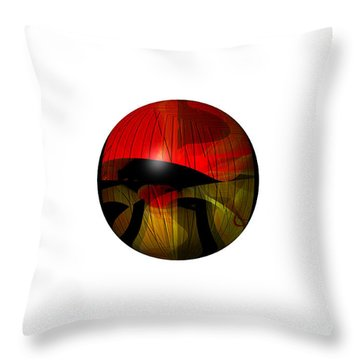 Exoplanet  Throw Pillow