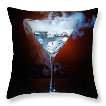 Exotic Drink Throw Pillow by Oleksiy Maksymenko