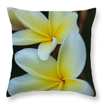 Throw Pillow featuring the photograph Exotic by Julie Andel