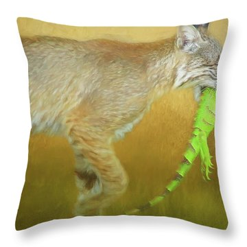 Exotic Lunch. Throw Pillow