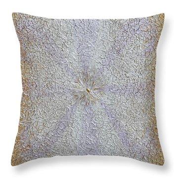 Expansion Throw Pillow by Georgeta  Blanaru