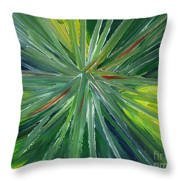 Expansion Throw Pillow