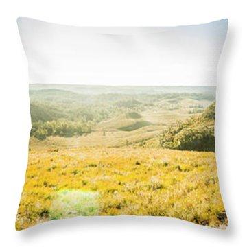 Expansive Open Plains Throw Pillow