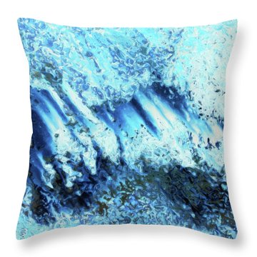 Expansive Throw Pillow by Tom Druin