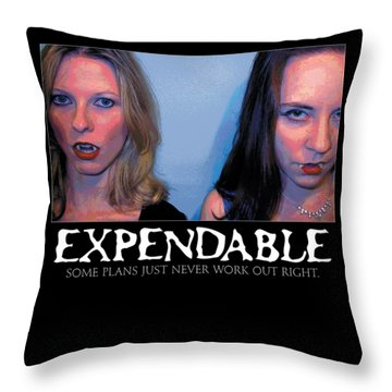 Expendable 15 Throw Pillow