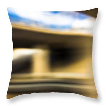 Experimenting Light Throw Pillow