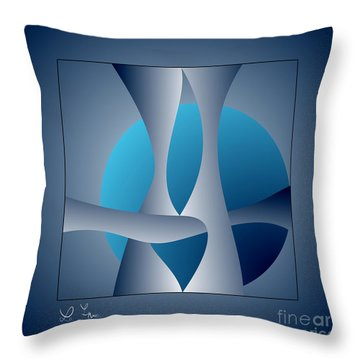 Expert Debate Throw Pillow by Leo Symon