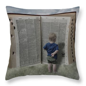 Exploration And Discovery Throw Pillow