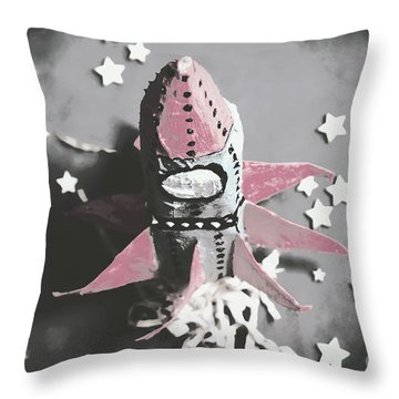 Exploration Into Outer Space  Throw Pillow