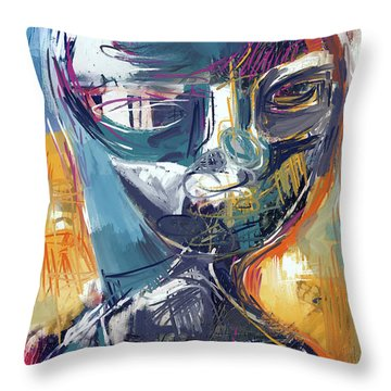 Exploration Throw Pillow by Russell Pierce