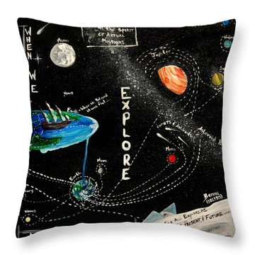 Explore And Discover Collector Edition Throw Pillow by Mandy Elliott