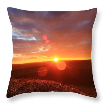 Throw Pillow featuring the photograph Explore More by Everett Houser