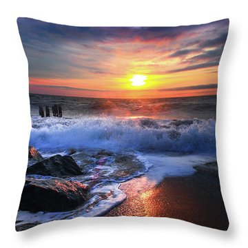 Explore With Your Heart Throw Pillow