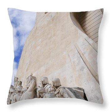 Explorers Throw Pillow